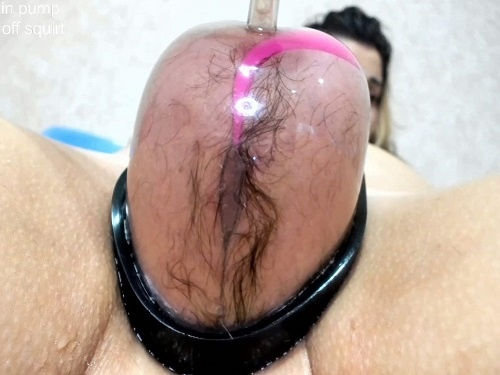 Pussy pump – Hard anal rosebutt loose during vaginal pump with Only_Julia