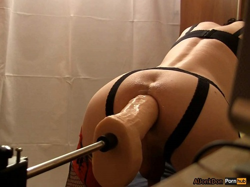 Fucking machine porn – Amazing pornstar Aljonkdon fucking machine sex with huge dildo