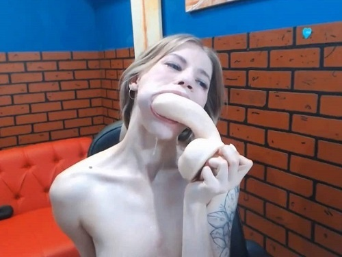 Gagged girls – Fantastic rough deepthroat fuck with dildo and during fisting